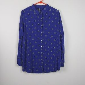 Intimately Free People Oversized Button Down Top
